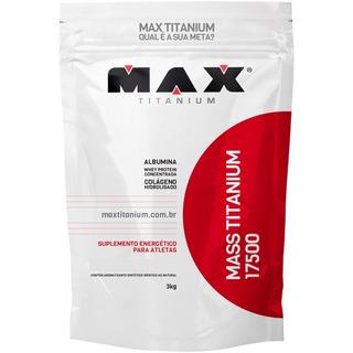 Mass Titanium 17500 3kg Max Hipercalorico Envio Imediato