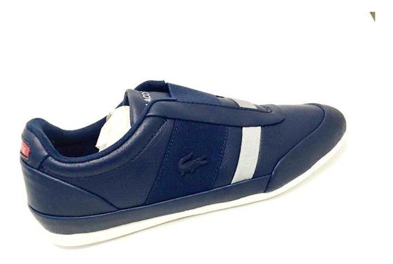 Tenis Lacoste Misano Elastic 318 1 U Azul Marino Caballero