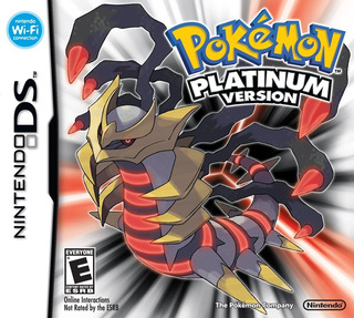 Pokemon Platinum - Nintendo Ds (2009) Nuevo Y Sellado