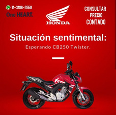 Moto Honda Cb 250 Twister 0km