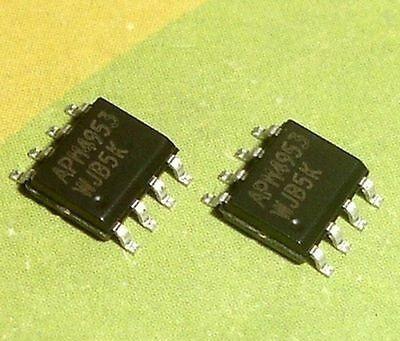 5x Ci Smd Apm4953 - 4953 -apm4953 -apm4953 - Sop8