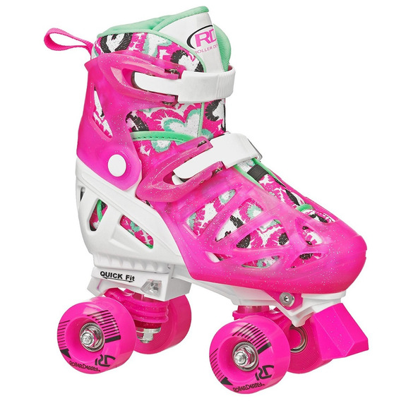 Patines 18-21 Talla Mexicana Roller Derby Trac Star Girl