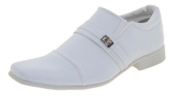 Sapato Masculino Social Branco Street Man - 259