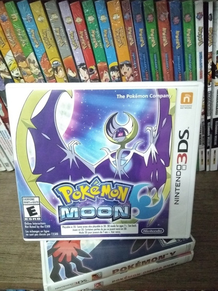 Pokémon Moon - 3ds