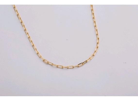 Corrente Masculina Cartier 70cm Banhada Ouro