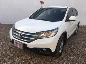 Honda Crv Exl 2014 Blanco 4x4 Aut Con Garantia