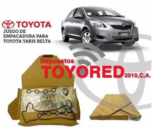 Juego De Empacadura Toyota Yaris Belta Motor 1.5
