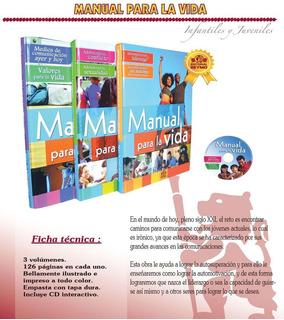 Libros Manual Para La Vida / Valores Superación Adicciones