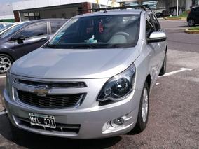 Chevrolet Cobalt 1.8 Ltz Mt 2013 Gris Nafta Y Gnc Full