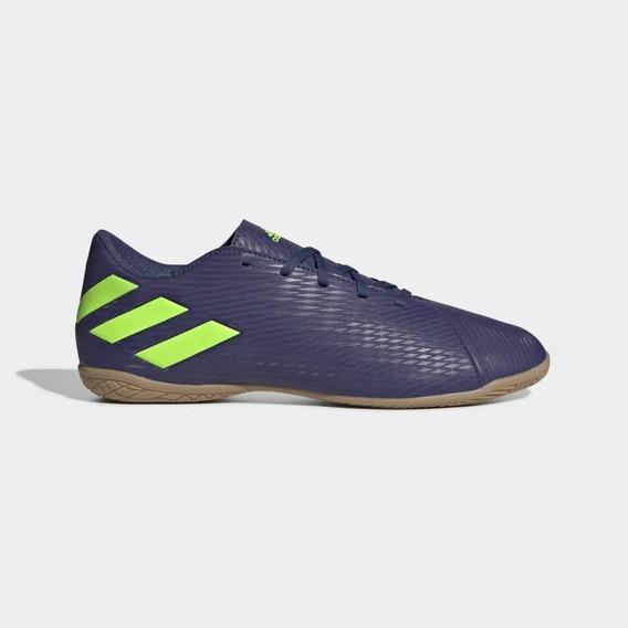 Tenis adidas 01/2020 Indoor Messi 19.4 Ef1810 Mho/verde