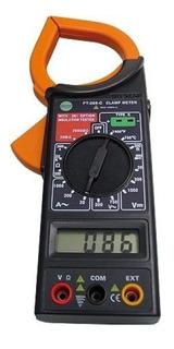 Alicate Amperímetro Digital Com Medidor Temperatura 500v Est