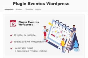 Plugin Wordpress Eventos