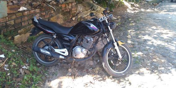 Suzuki Yes En 125 2008 Preta