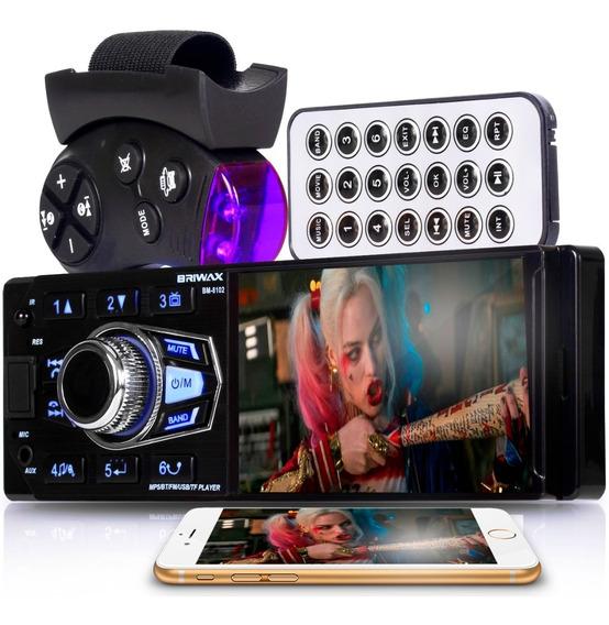 Som Automotivo Radio Mp5 Bluetooth Espelhamento Camera De Ré