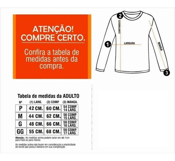 Camisa Camiseta Proteção Uv Solar Fator 50 Praia Pisc Uv 50+