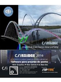 Csi Bridge 2016 V18.1 - Para Projetos De Pontes