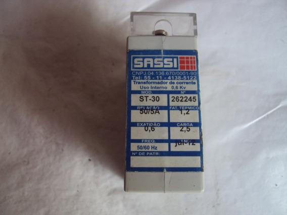 Capacitor Transformador De Corrente Sassi St-30 Semi Novo
