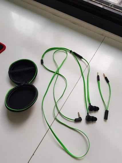 Fone De Ouvido Razer Hammerhead Pro V2 Com Microfone - P2