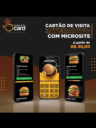 Imagem 1 de 5 de Cartão Digital + Microsite ( O Melhor Preço Do Mercado)