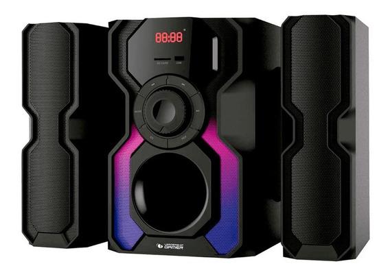 Caixa De Som 60w Bluetooth 2.1 Micro System Mp3 Fm Pc Tv +nf