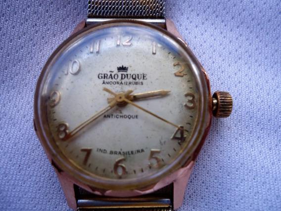 Relógio Grão Duque Funcionando Movimento Corda
