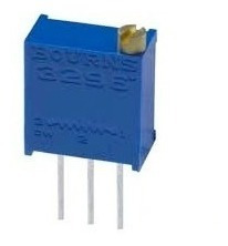 10x Trimpot 200k 25 Voltas 3296w (204) Vertical (10 Unidades)