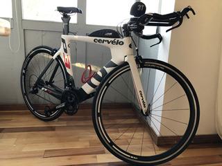 Bicicleta Triatlon Cervelo P3 Carbono Talle54 Ultegra, 2015