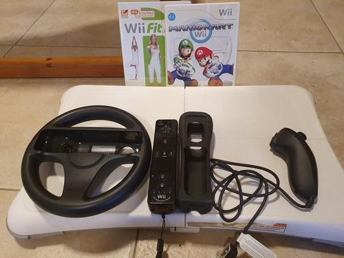 Nintendo Wii Edición Mario Kart + Wii Balance Board