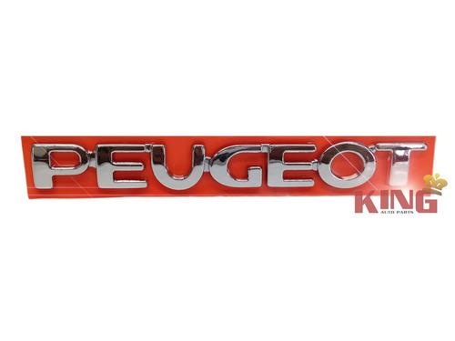 Imagem 1 de 1 de Emblema / Peugeot / Cromado 206 A 207