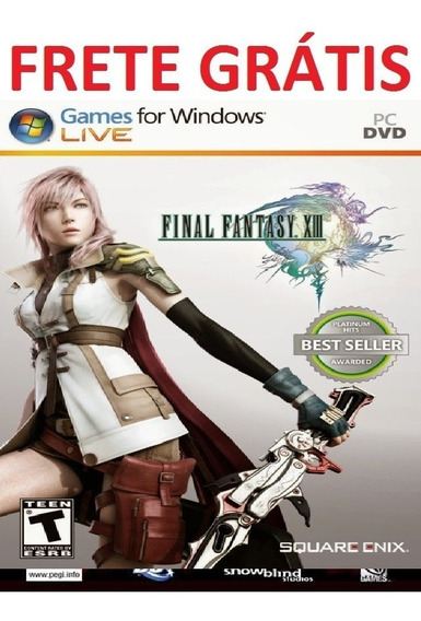 Final Fantasy Xiii Pc Game - Super Promoção