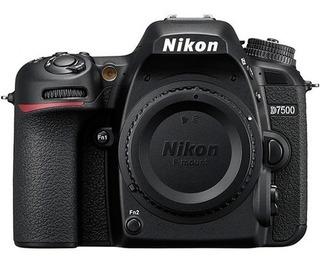 Cámara Nikon D7500 (solo Cuerpo) Dx 20.9mpx Envio Gratis