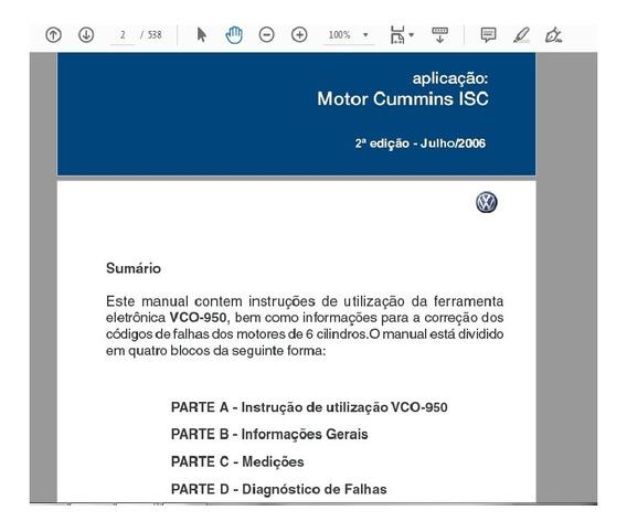 Manual Codigos Falhas 19-320 31-320 Motor Cummins