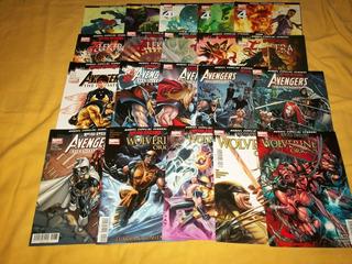 Avengers:el Reino Oscuro (20 Comics/edit.televisa