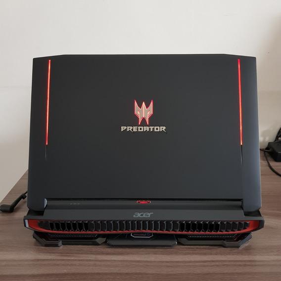 Notebook Gamer Acer Predator 17 32gb Gtx 980 Ssd 240 2tb