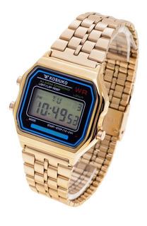 Reloj Kosiuko Hombre 7840 255 Wr Digital Vintage Metal