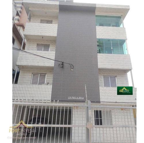 Imagem 1 de 9 de Apartamento Com 1 Dormitório À Venda, 55 M² Por R$ 190.000,00 - Boqueirão - Praia Grande/sp - Ap2589