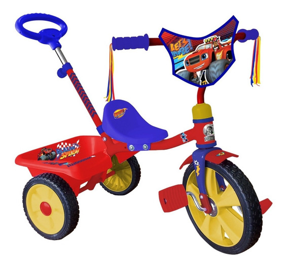 Triciclo Apache Blaze R10 Barra Empuje