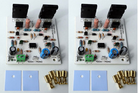 2 Placas Montada Amplificador 100w Rms