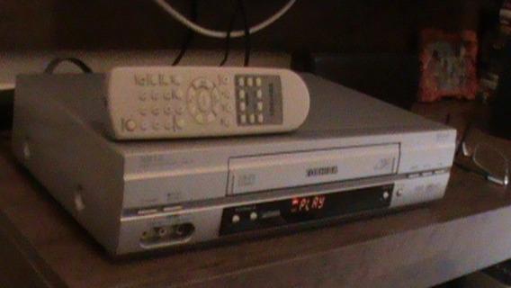 Video Cassete Toshiba 7 Cabeças Com Controle