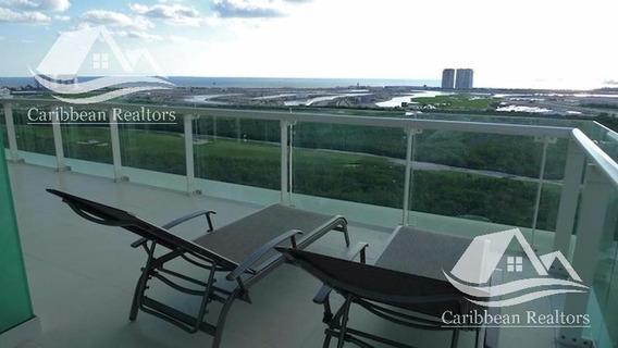 Departamento En Venta En Puerto Cancún/zona Hotelera