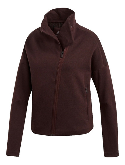 adidas Campera Running Mujer Heartracer Here To Create Bordo