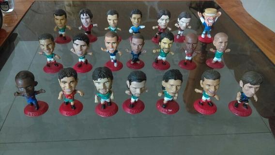 Micro Stars Cabezones Coca-cola Fútbol Coleccionables