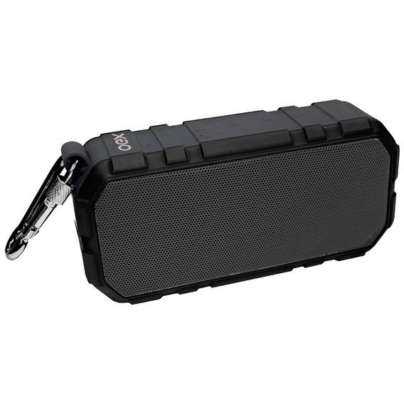 Caixa De Som Bluetooth Speaker Brick Sk406 Preto Oex