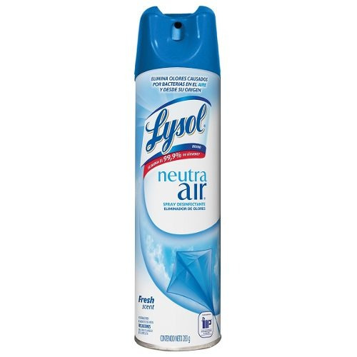 Lysol Neutra Air Spray Eliminador De Olores Fresh Scent 238g