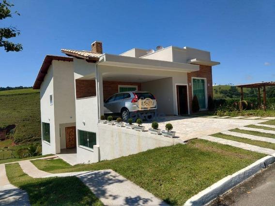 Casa Com 3 Suítes À Venda Medindo 430 M² Em Condomínio - Paraibuna/sp - Ca1676