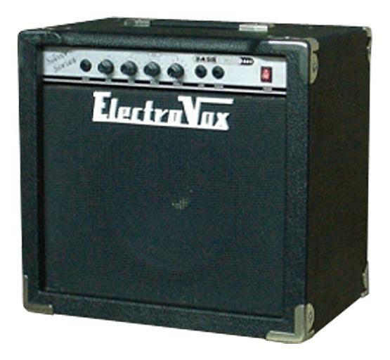 Amplificador De Bajo Electrovox Basstech Be-30 Combo