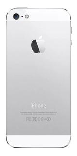 Apple iPhone 5 16gb Prata Seminovo C/ Nota Funcionando Td Ok