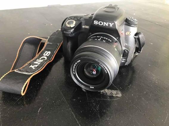 Câmera Sony A580