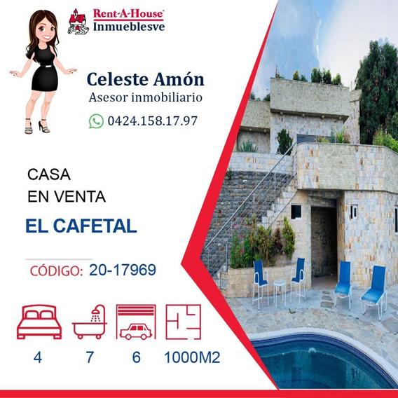 Casa En Venta El Cafetal 0424.158.17.97 Ca Mls #20-17969