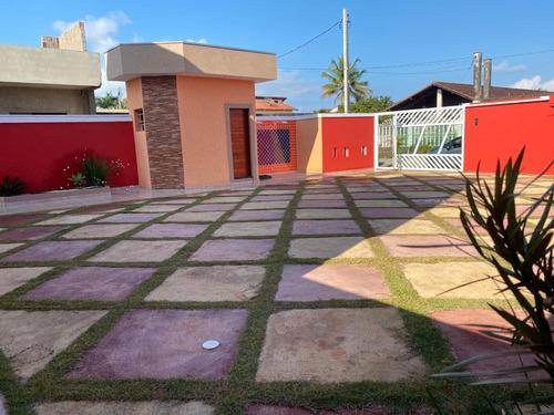 Casas Em Condomínio Lado Praia Itanhaém Ref: 8320 C